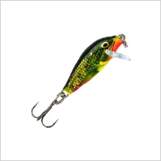 Rapala Countdown Crankbaits for Ultralight Fishing