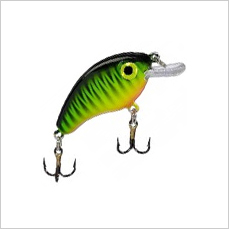 Bitsy Pond Minnow Crankbait for Ultralight Fishing