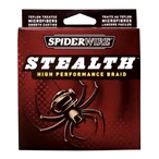 SpiderWire Stealth Braided Line for Ultralight Fishing